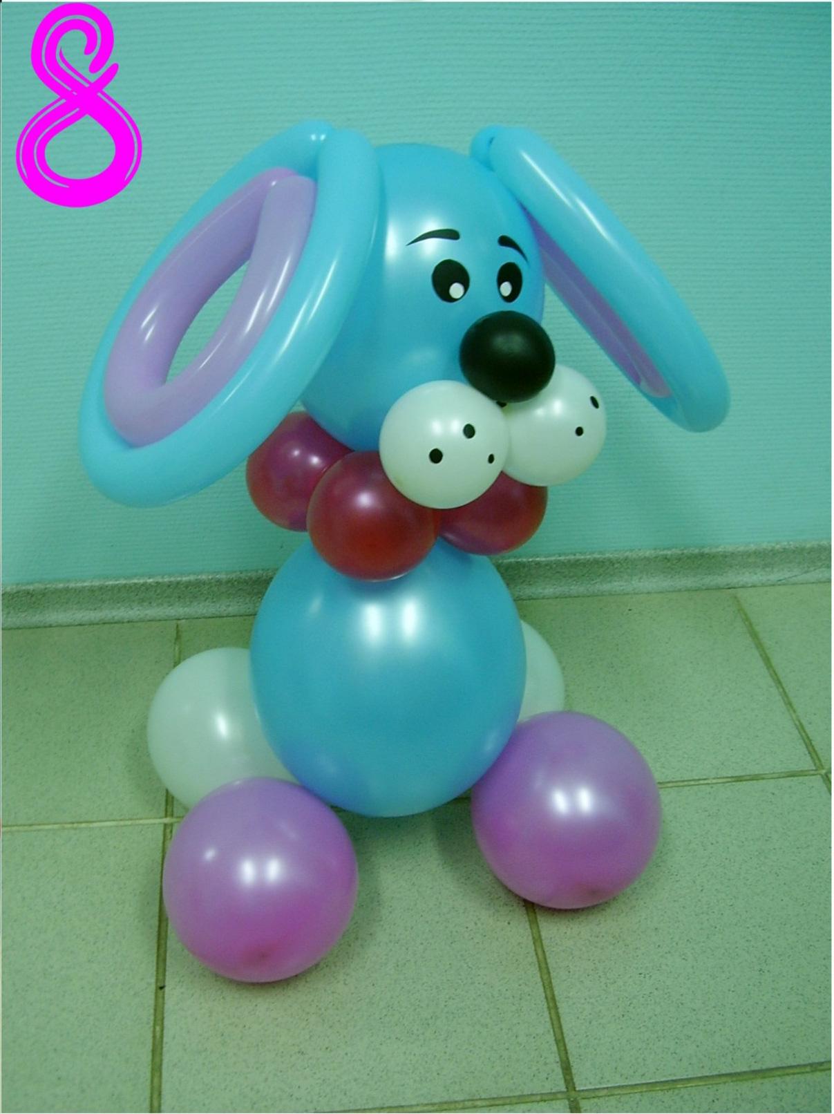 Животные из воздушных шаров